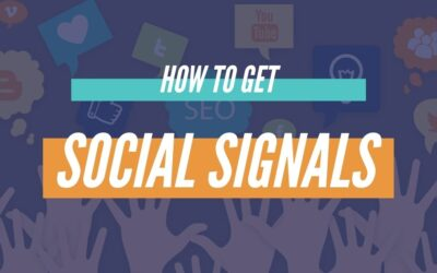 How To Get Social Signals